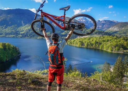 Mountain biking slovenia