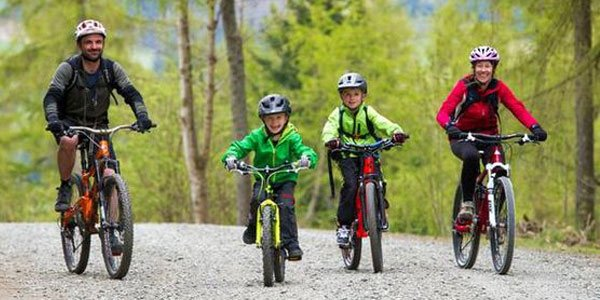 Active family holidays Biking