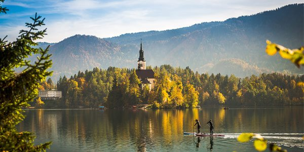 Active family holidays Bled