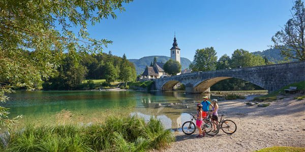 Active family holidays Bohinj