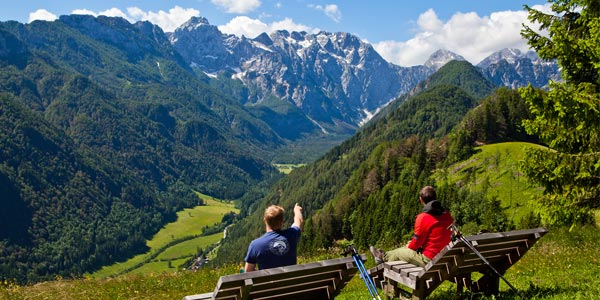 Active family holidays Logarska dolina