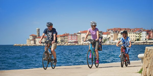 Active family holidays Piran