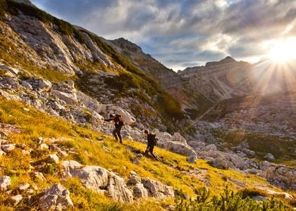 triglav national park hikking