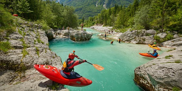 soca valley kayaking